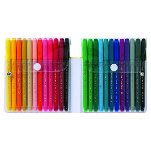 Set of 24 Assorted Colors Pentel Color Pen Set S360-24
