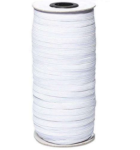 Elastic Bands for Sewing, 70 Yard 1/4 Inch for Sewing and Crafting Elastic Cord for Sewing Crafts DIY, Bedspread, Cuff