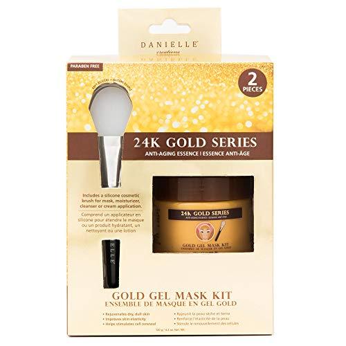 DANIELLE Creations 24K GOLD SERIES GOLD GEL MASK KIT