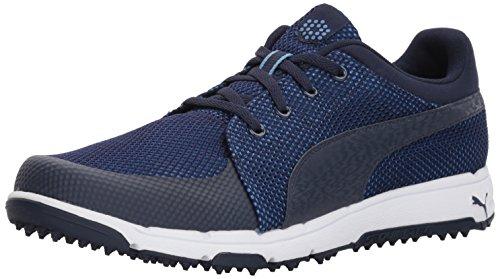 PUMA Men's Grip Sport Golf Shoe, Peacoat/Marina, 7 Medium