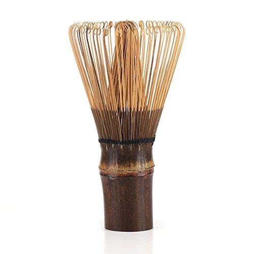 Fdit Chasen Matcha frusta in bambù naturale artigianale miscelatore Powder Brush Tools frullatore per tè verde o caffè