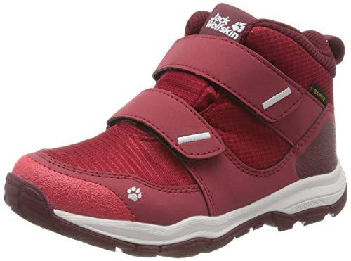 Jack Wolfskin MTN Attack 3 Texapore Mid Vc K, Chaussures de Randonnée Hautes, Rouge (Red/Dark Red 2109), 38 EU
