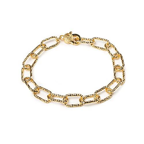 Bracciale diamantato dorato Isola Bella in argento 20000393