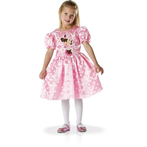 Costume Minnie originale Walt Disney bimba 5-6 anni