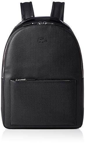 Lacoste Premium Rucksack Leder 43 cm Laptopfach
