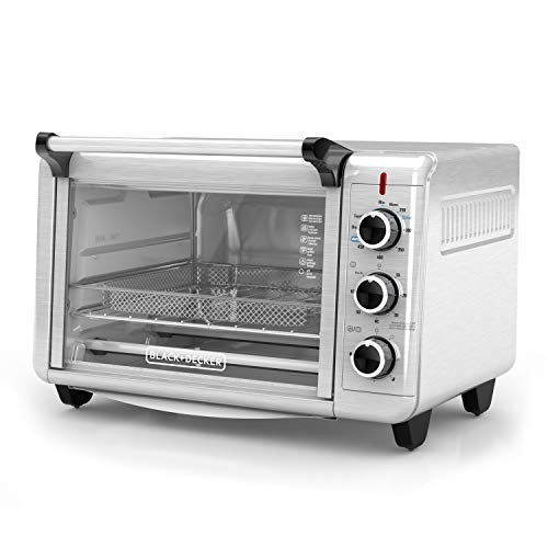 BLACK+DECKER Crisp 'N Bake Air Fry Toaster Oven