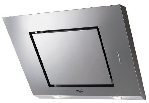 Whirlpool AKR 808 IX Wall-mounted Stainless steel 736m³/h D cooker hood - cooker hoods (736 m³/h, Ducted/Recirculating, 71 dB, 45 cm, 65 cm, Wall-mounted)