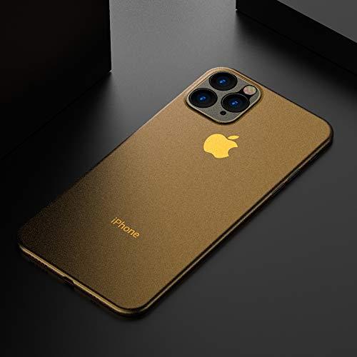 Schutzhülle für iPhone 11 Pro Max, ultradünn, aus Hartplastik, mit Nano-Beschichtung, mattes Finish