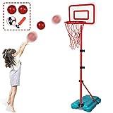 N/C Kids Basketball Hoop Stand Adjustable Height 2.9 ft -6.2 ft Indoor Basketball Hoop Outdoor Toys...