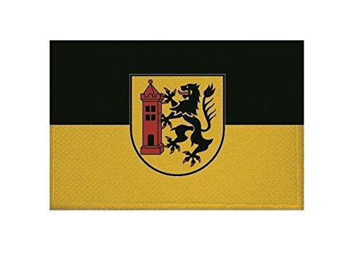 U24 Aufnäher Meißen Fahne Flagge Aufbügler Patch 9 x 6 cm