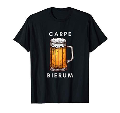 Lustiger Bier-Spruch Latein: Carpe Bierum Bier-Trinker T-Shirt