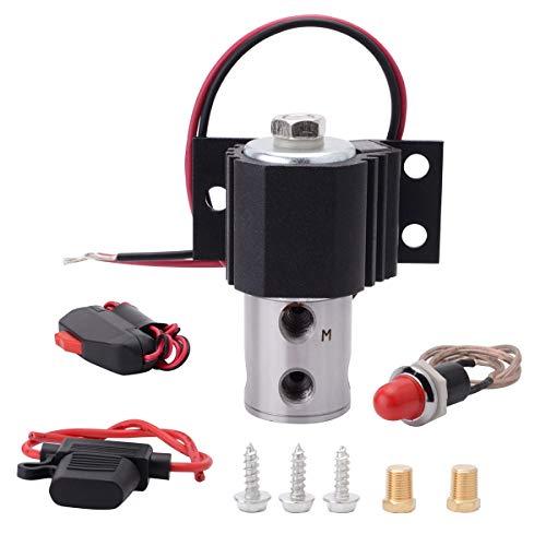 SYKRSS Line Lock Brake Lock Roll Control Electric Kit Hill Holder Black
