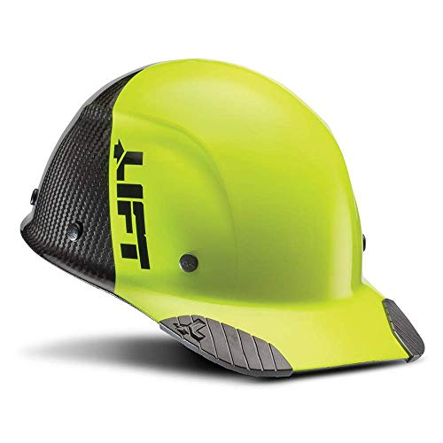 Lift Safety DAX 50-50 - Gorra de fibra de carbono, color amarillo y negro 🔥