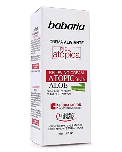 Babaria Piel Atopica Aloe Vera Crema Aliviante 0% -  100 ml