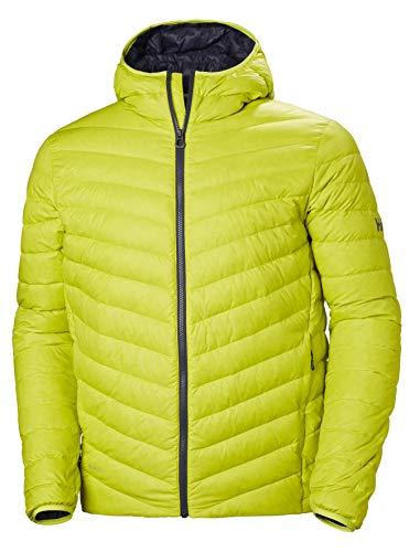 Helly-Hansen 62773 Men's Verglas Hooded Down Insulator, Sweet Lime - S