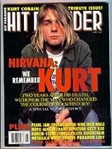 HIT PARADER MAGAZINE - JUNE 1996 - NIRVANA / KURT COBAIN TRIBUTE ISSUE