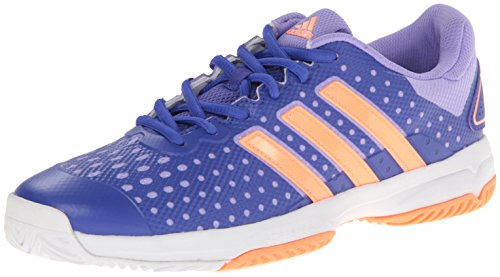 adidasBarricade Team 4 xJ - K - Barricade Team 4 XJ - K Unisex-Kinder, Blau (Night Flash/Flash Orange/White), 32 M EU Kleines Kind