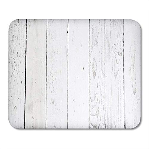 Mauspads Grau Holz Schwarz Verwitterte Holzplanke Farbe Rustikal Tisch Bodenleuchte Mousepad für Laptop, Desktop-Computer Zubehör Mini Office Supplies Mauspads