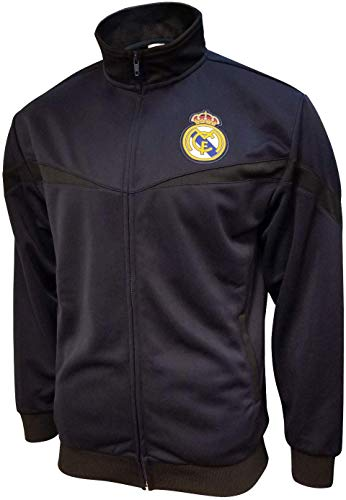Icon Sports Youth Real Madrid Jacket Officially Licensed Zipper Soccer Jacket YL 002