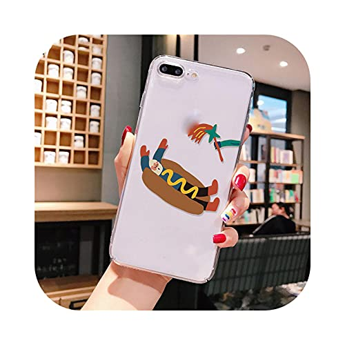 Henraly - Carcasa para iPhone 8, iPhone 7, 6, 6S Plus, X, XR, XS Max 5, 5S, 11 Pro max-A8-For iPhone XR