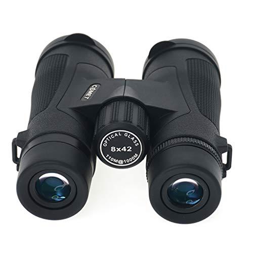 RUIJING 8x42 Verrekijker, Zoom, Hoge Vergroting, Hd, Nachtzicht op laag Licht, Groene Film Big Eyepiece, Bak4-prisma, Geschikt voor Vogelkijken, Jacht, Opera, Theater, Optische Verrekijker