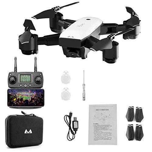 DishyKooker SMRC S20 5G WiFi FPV con cámara 1080P GPS dinámico Seguir 18 Minutos Tiempo de Vuelo RC Drone Quadcopter 3 baterias