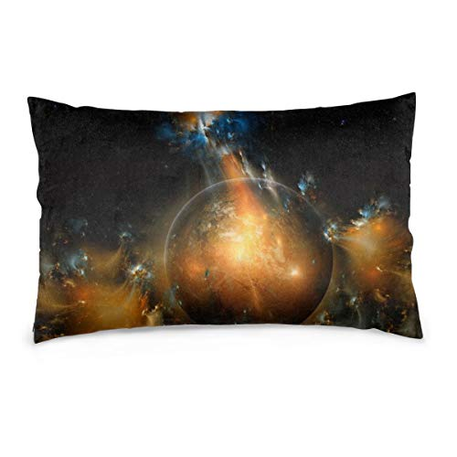XIEXING Pillow Case Explosion Printed Pillow Cases Soft Chair Seat Bedding Pillowcase Coffee Shop Home Decor 16'' X24
