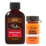 TINK'S Scent Bomb and #69 Doe-in-Rut Buck Lure   Use as a Scent Lure, Deer Attractant & Trail Marker   Refillable & Reusable Bottle, Easy Application, Squirt Top   Deer Hunting Accessories