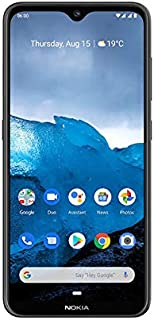 NOKIA 6.2 Smartphone, Android, 128 GB - Charcoal
