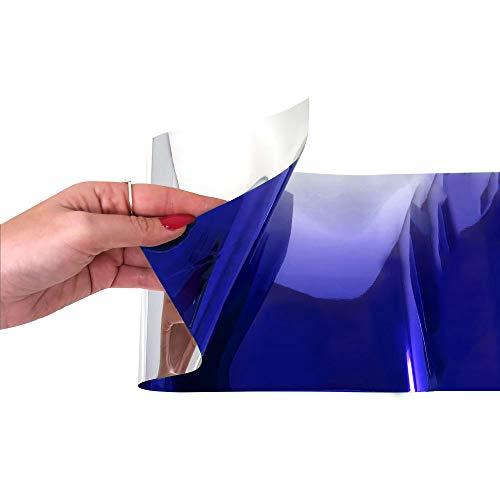 Feuille Pare-Soleil Dégradé pour Voiture, Bleu
