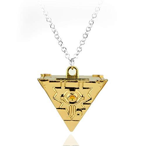 Inveroo Heiße Anime Yu-gi-oh Ygo Millenium Puzzle Yugioh Yugi Millennium Anhänger Halskette Für Frauen Und Männer Schmuck Zubehör