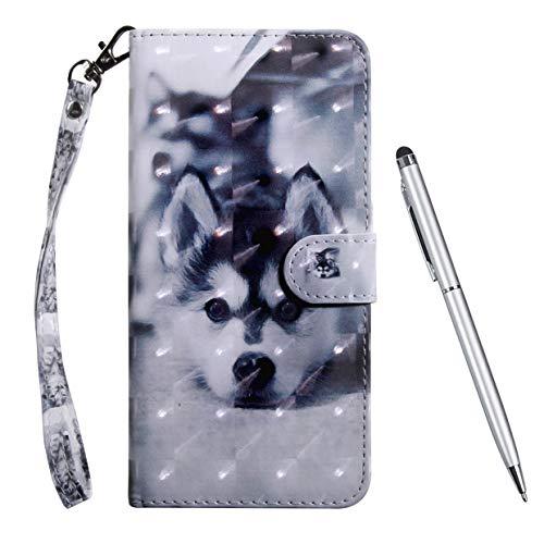 TOUCASA Hülle für Galaxy J3 2017,Handyhülle für Galaxy J3 2017,Brieftasche PU Leder Flip [3D] Hülle Magnetverschluss Handytasche Klapphülle für Samsung Galaxy J3 2017,H&