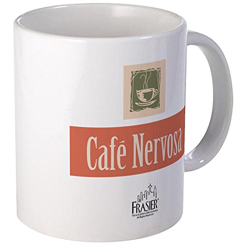 CafePress Frasier: Cafe Nervosa Mug Unique Coffee Mug, Coffee Cup