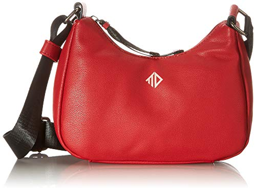 TOM TAILOR Denim Blanca, Hobo Bag Donna, Colore: Rosso, Large