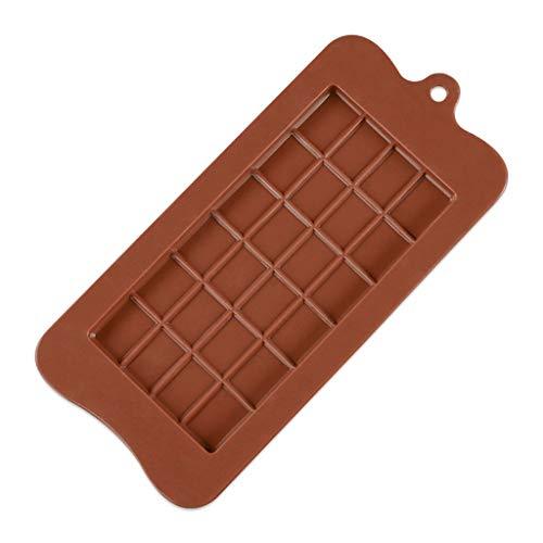LANGU TECHNOLOGY 2 PCS Molde de Silicona 24 Incluso Molde de Chocolate...