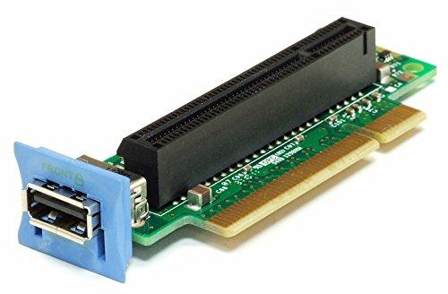 IBM 43V7067 Right Angle PCIe x8 SAS Expander Riser Card w/ USB x3550 x3650 M2 M3 (Generalüberholt)