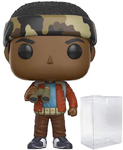 Funko Stranger Things Lucas con prismáticos Pop! Figura de vinilo (incluye funda protectora compatible con Pop Box)