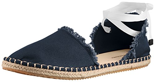 A|X Armani Exchange Damen Armani Exchange Leinen-Espadrilles, Navy, 40 EU