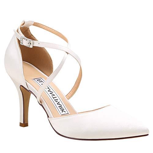 Duosheng & Elegant HC1901 Mujer Dedo del pie Puntiagudo Tacón Alto Zapatos...