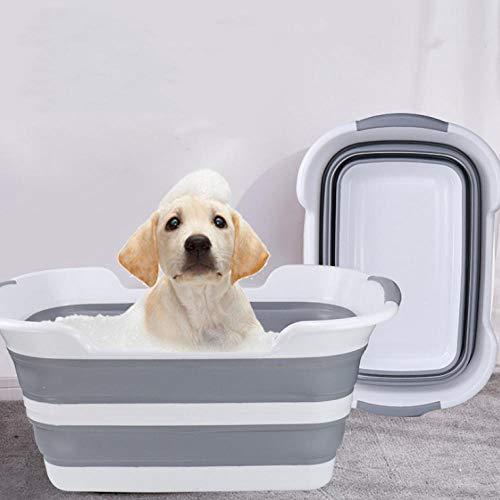 Haustierbadewanne, Faltbare Haustier Badewanne, Haustierbad, Waschküche, Haustierbedarf