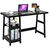Best Tangkula Office Desks - Tangkula Trestle Computer Desk, 47.5 Inches Modern Home Review