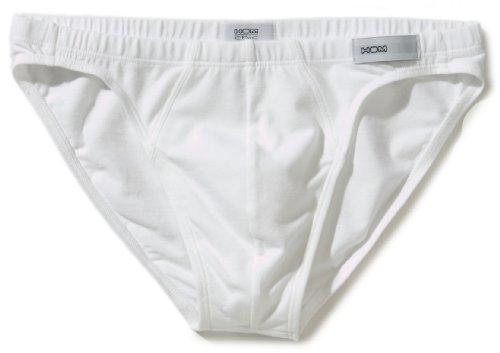 HOM Herren Slip 10080153 First Cotton Micro, Gr. 6 (L), Weiß (WHITE - LIGHT COMBINATION M015)