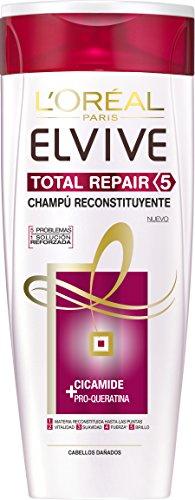 L'Óreal Paris Elvive Total Repair 5, Champú- 370 ml