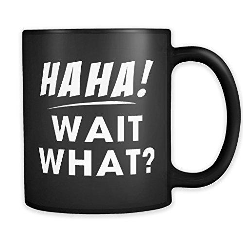 Diuangfoong Haha Wait What Tasse, lustige Gamer-Tasse, Gamer-Geschenk, Gamer-Kaffeetasse, Freund Geschenk, Bruder-Tasse