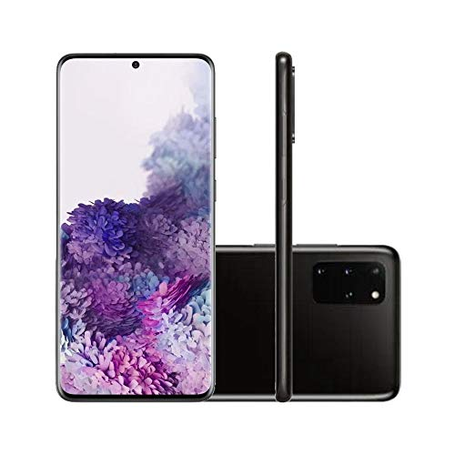 "Celular Samsung Galaxy S20+ / Dual/Tela 6.7"" / 8GB Ram / 128GB - Cosmic Black"