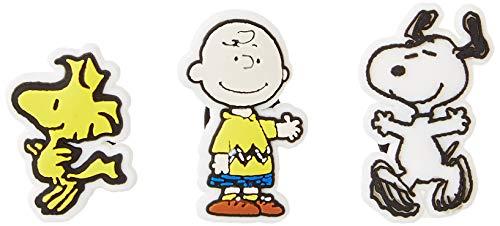 crocs Unisex Peanuts 3er Pack Schuhanhänger, Mehrfarbig, Einheitsgröße