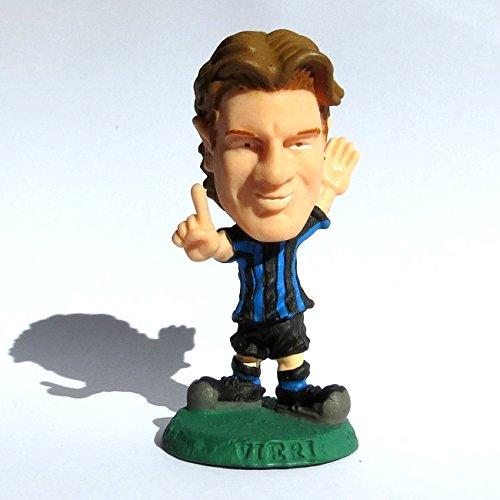 Christian Vieri (Inter) Campionato Italiano di Calcio dl Serie A stagione 2003-04 Bomberini Panini serie Clubs Mini Figures Calciatori Italia Microstars