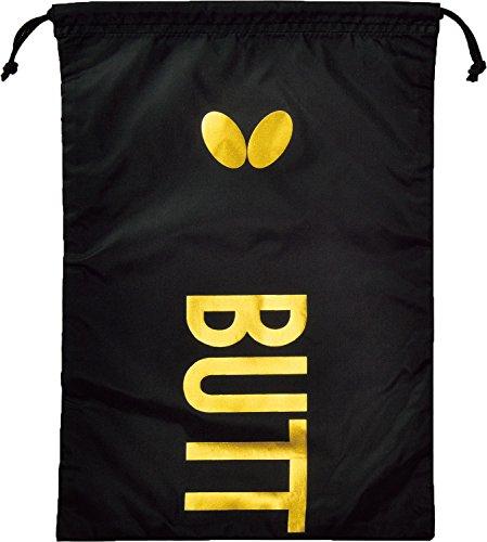 バタフライ(Butterfly) 卓球 シューズ袋 スタンフリー・シューズ袋 ブラック 62940 40×28cm