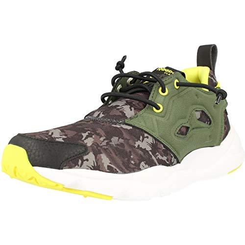 Reebok Classic FuryLite CQ Graphic Groen (Primal Green) Mesh Jeugd Sneakers Schoenen