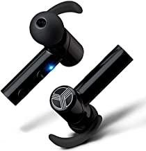 TREBLAB X2 - Premium in-Ear Truly Wireless Earbuds 2019-3D Sound Quality, Bluetooth Mic, Noise Cancelling, Charging Case. Top 10 Fully Wireless Earbuds, True Waterproof for Sports, Running & Workout